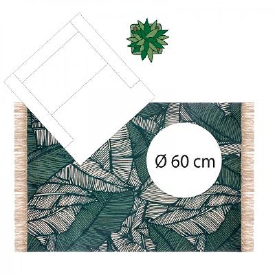 Paklājs Džungļi, 120x170, Zaļš