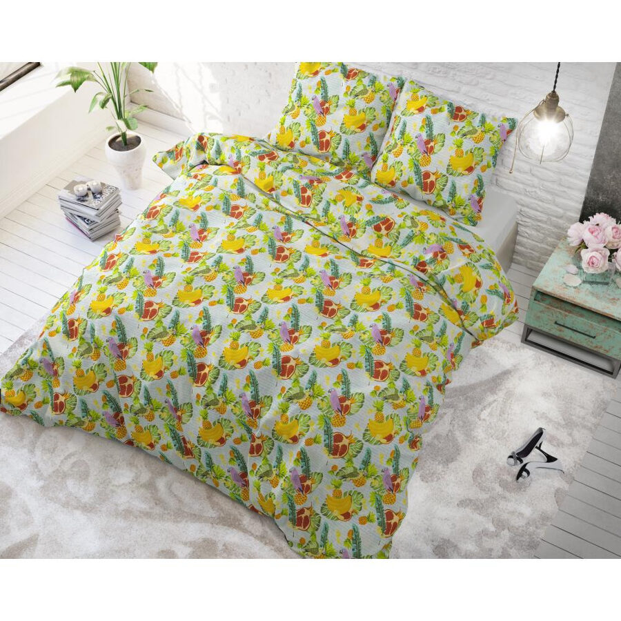Jaukta kokvilna 140x220 Fruit Trend Green