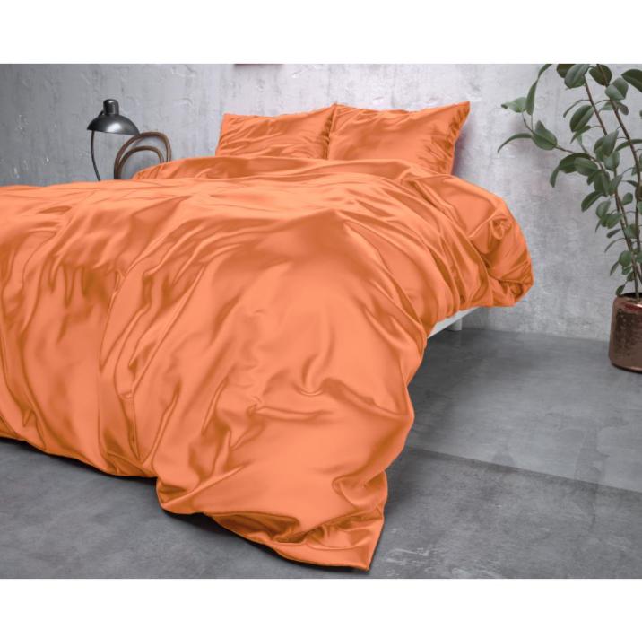 Zīda Mikroperkals Maigi oranžs 140x220