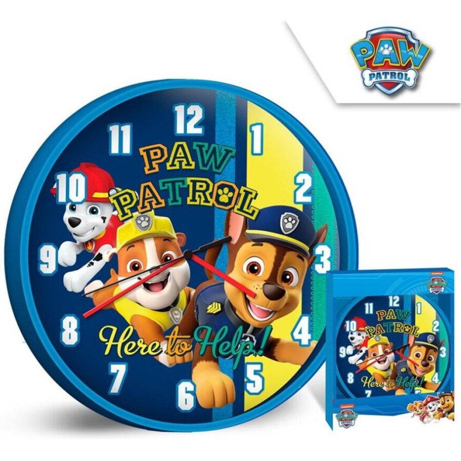 Sienas pulkstenis Ķepu patruļa, d25