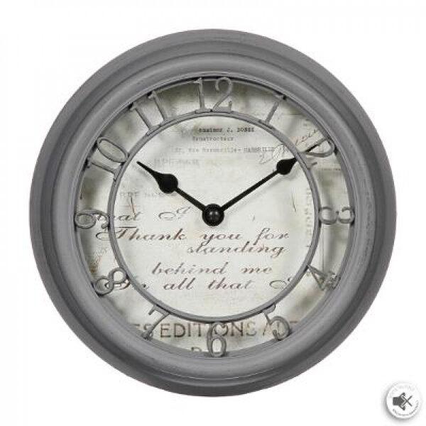 Pulkstenis Romance, d21.5, pelēks