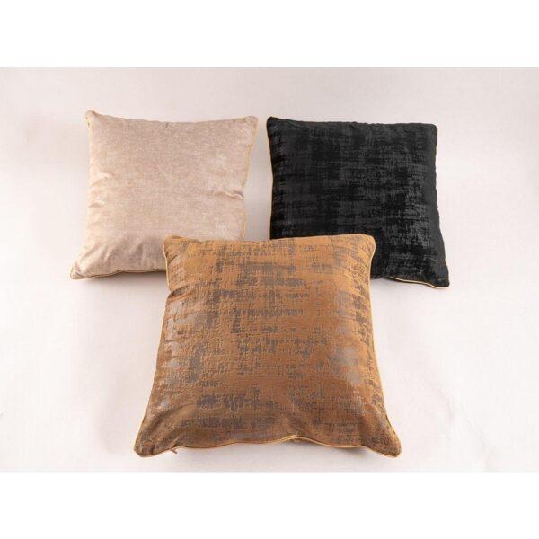Velveta dekoratīvais spilvens, 45x45, 7 krāsas