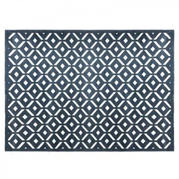 Dimanta reljefa paklājs, 160x230, pelēks