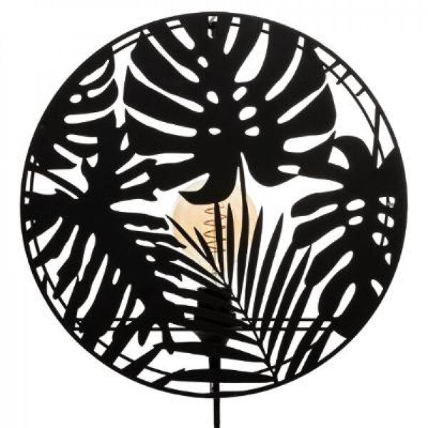 Sienas lampa d39.5 Melna