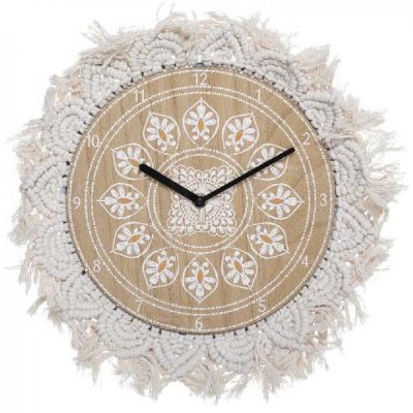 Sienas pulkstenis, d38, bēšs