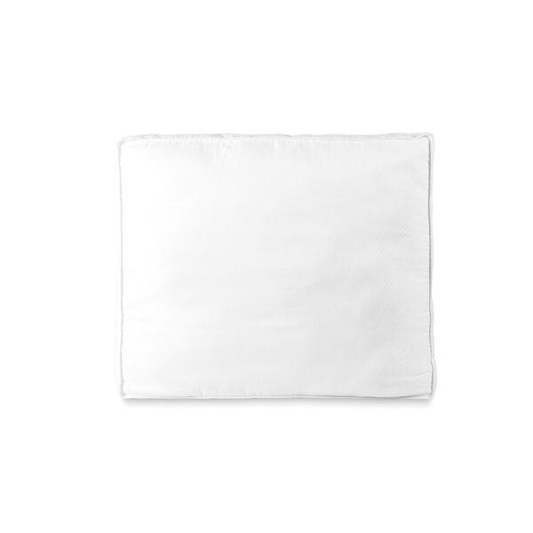 Spilvens Dobby Dot Box, 60 x 70 Balts