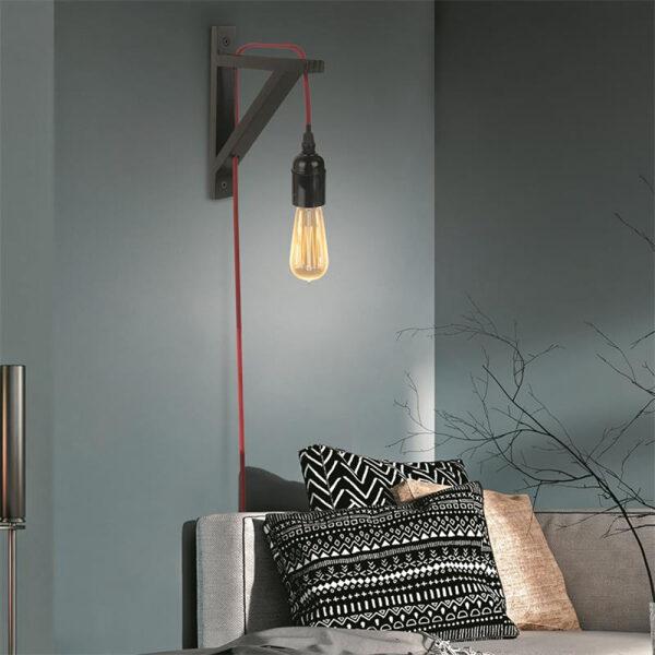 Melna sienas lampas