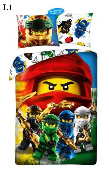 LEGO Ninjago 140x200 2 dizaini