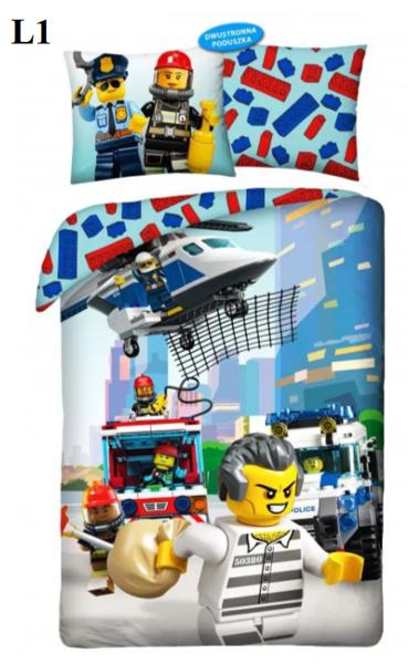 LEGO City 140x200 2 dizaini