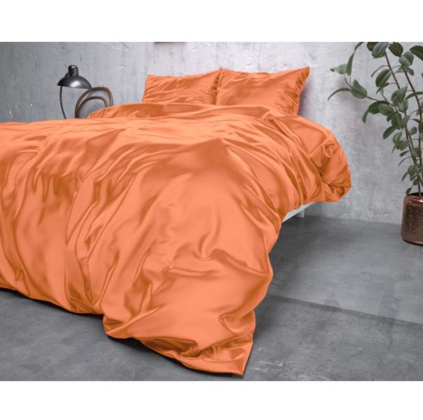 Zīda Mikroperkals Maigi oranžs 200x220