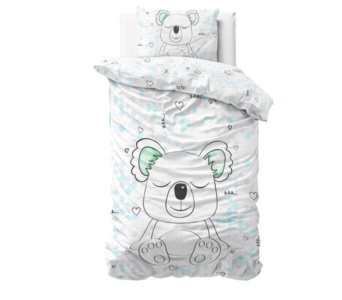 Sleepy Koala White 140x220