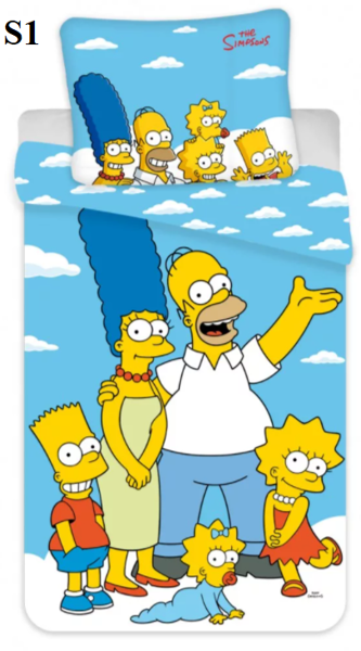 Simpsoni 140x200 3 dizaini